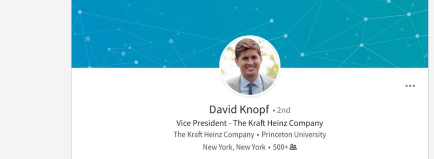 <h5><strong>The 29-Year-Old Who Was Named Chief Financial Officer Of Kraft Heinz</h5></strong>